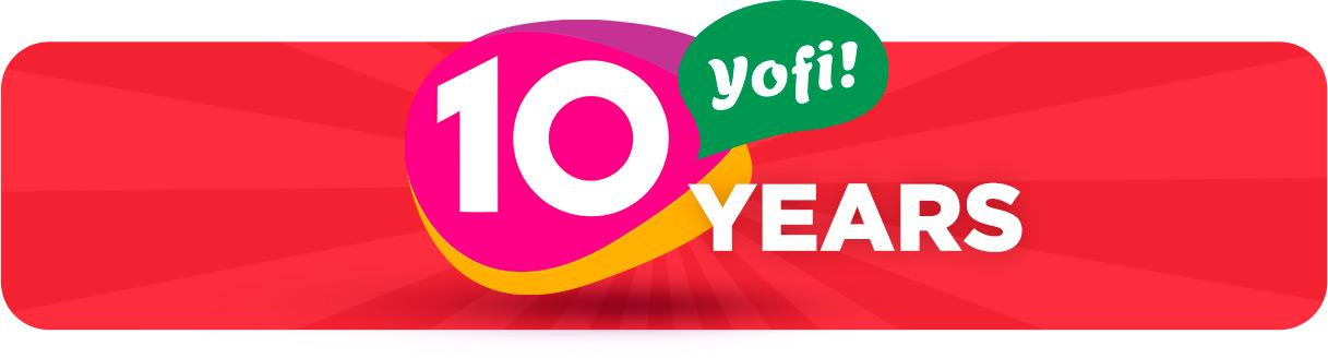 Promotion - 10 years Yofi